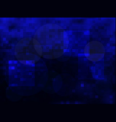 abstract blue background of darkness vector image
