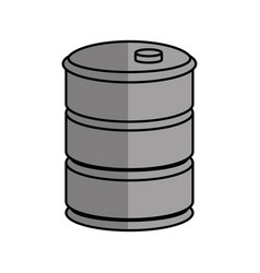 barrel icon image vector image