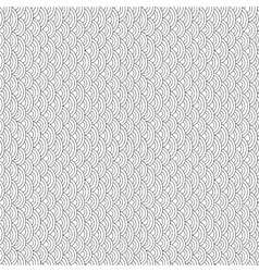 Black and white fish scales seamless pattern vector
