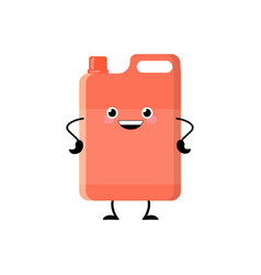 cute cartoon red detergent character vector image