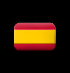 Flag of spain without coat of arms matted icon vector