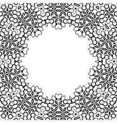 Formality circular devices of border frames vector