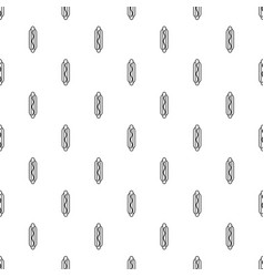 Hot dog pattern seamless vector
