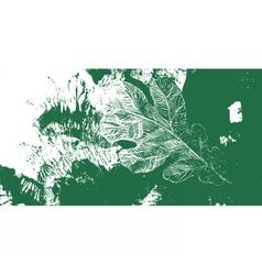 Leaf oak tree autumn defoliation vector