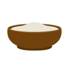 Pudding dessert vector