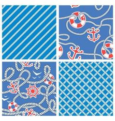 rope blue set 3 380 vector image