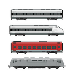 Trains vector