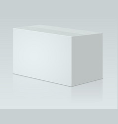 White paper packing vector