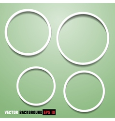 Abstract circles for web design vector image vector image