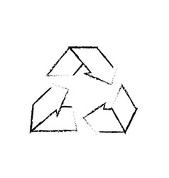Figure environment care symbol to protection of vector