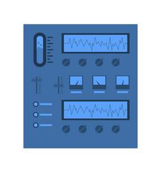 scientific equipment stand icon vector image vector image