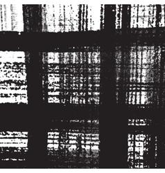 Distress Checkered Texture vector image vector image