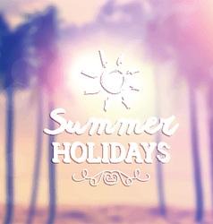 retro summer background 1405 vector image