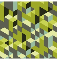 Abstract geometrical 3d background vector image vector image