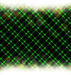 Abstract neon background blurry light effects vector