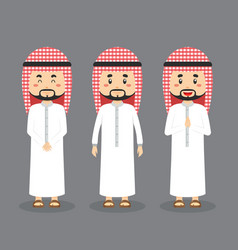 Arabic character with various expression vector