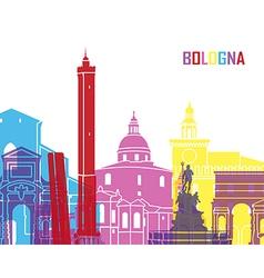 Bologna skyline pop vector image