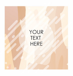 brown and white pattern background vector image