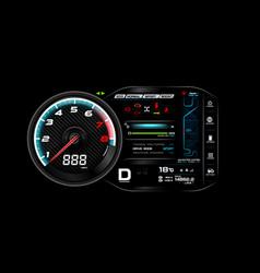 Car dash board eps 10 006 vector