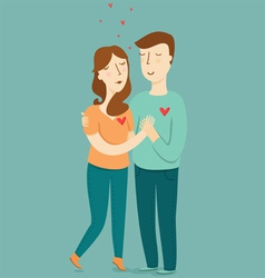 Love couple vector