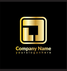 square business image vector image