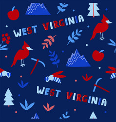 Usa collection west vector