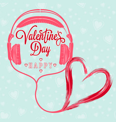 valentine 37 vector image