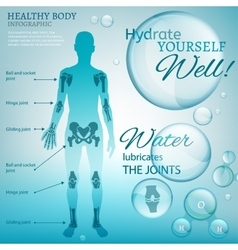 Water Lubricate Joints vector