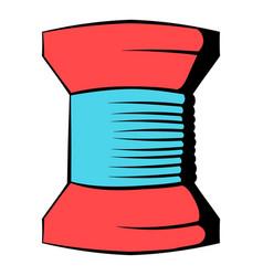 spool of thread icon icon cartoon vector image vector image