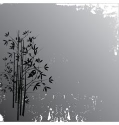 bamboo pattern vector image
