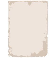 old grunge paper background vector image