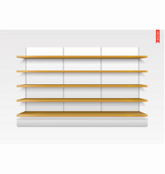 100 shelves long vector