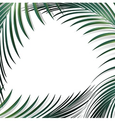 Abstract Jungle Palm vector