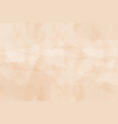 Beige old wet paper watercolor grunge textured vector