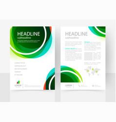 Business template vector