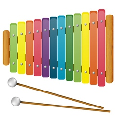 Childrens musical instruments - toy vector