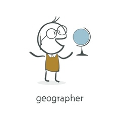 Geographer vector