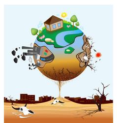 Global Warming Design 06 vector
