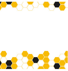 hive abstract background vector image