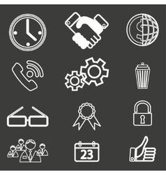 Icon 6 vector image