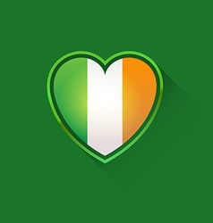 Love to Ireland vector image