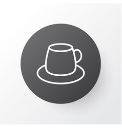 Tea icon symbol premium quality isolated coffee vector