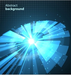 Abstract Technology Circles Background vector image