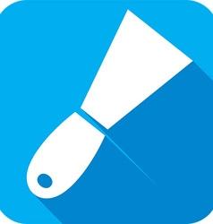 Construction Trowel Icon vector image vector image