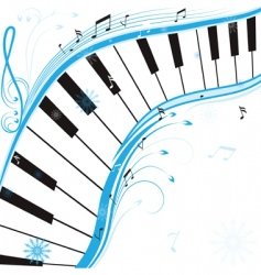 winter music vector image vector image