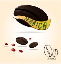 arabica vector image vector image