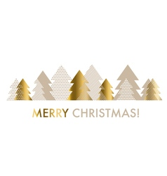 abstract decorative Christmas gold and beige pale vector image