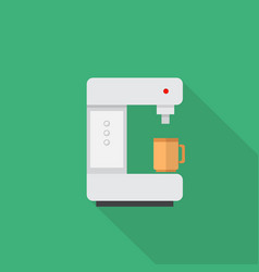 coffee maker icon set of great flat icons with vector image