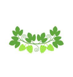 hop logo vector image