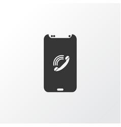 mobile phone book icon symbol premium quality vector image